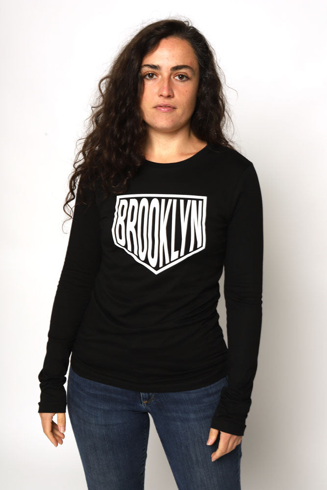 DIOXIDE LONG SLEEVE W - BROOKLYN INDUSTRIES