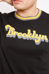 RADICAL RIB SHIRT BLACK M - BROOKLYN INDUSTRIES