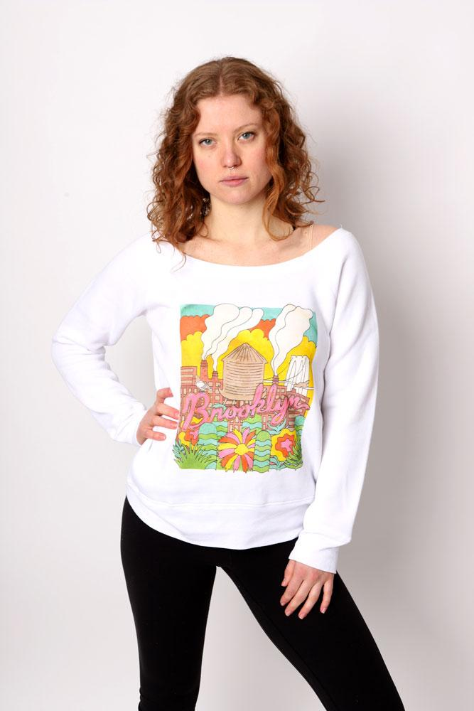 MILTY SWEATSHIRT W - BROOKLYN INDUSTRIES