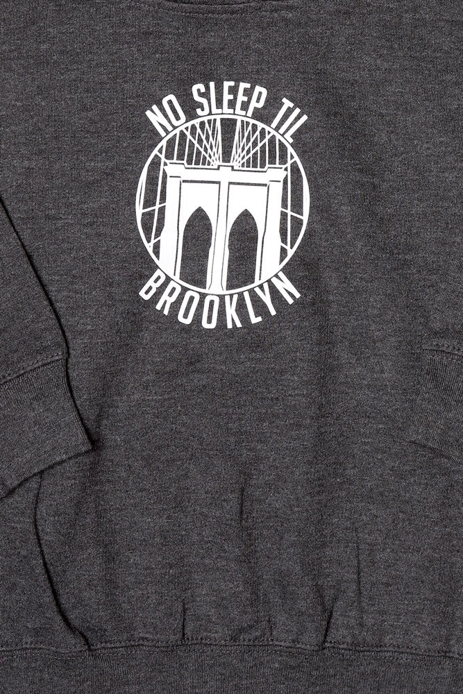 ROUND NO SLEEP HOODIE T - BROOKLYN INDUSTRIES