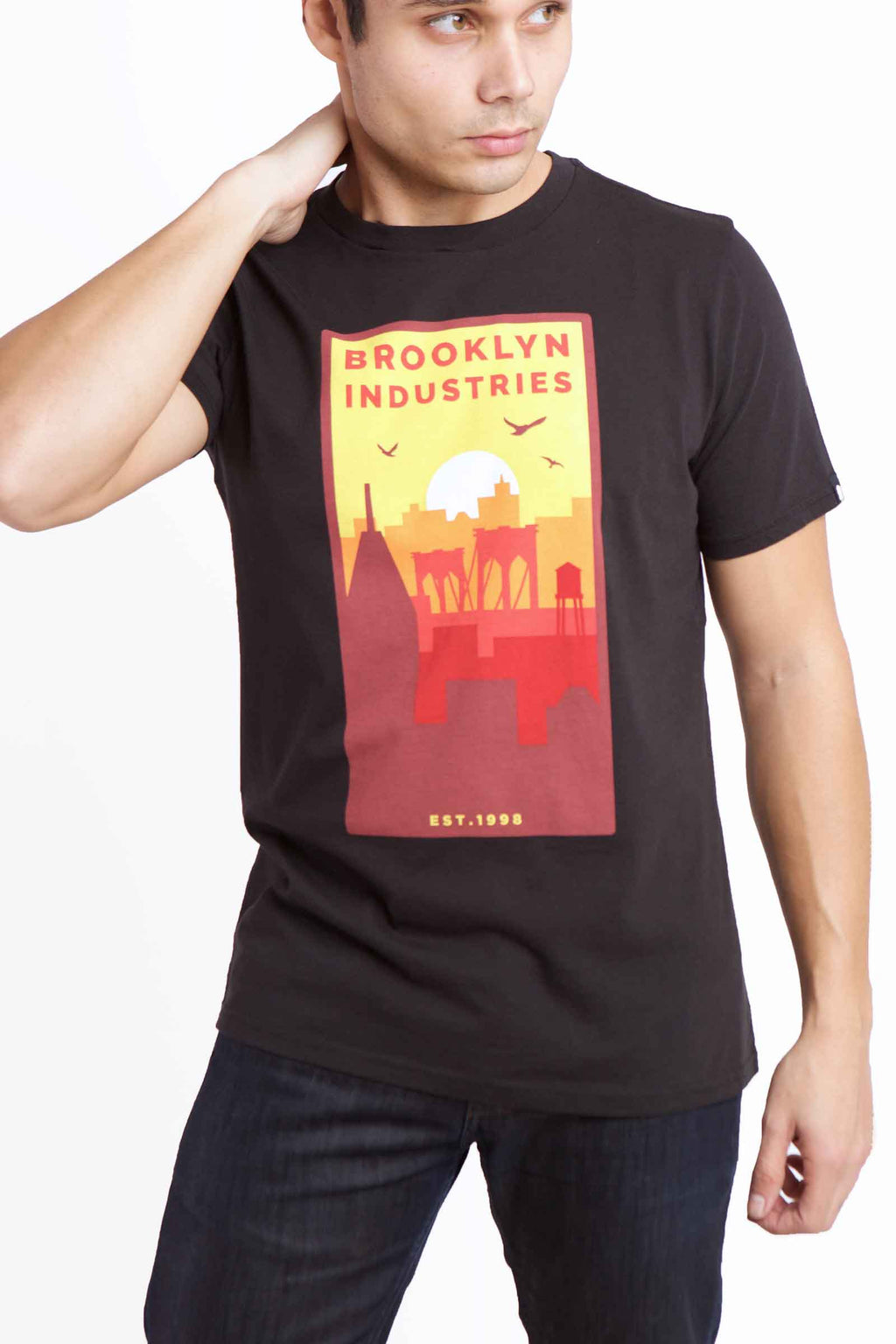 NAH CITY BLACK T-SHIRT IMAGE 1