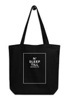 SLEEP NUMBER TOTE BAG - BROOKLYN INDUSTRIES