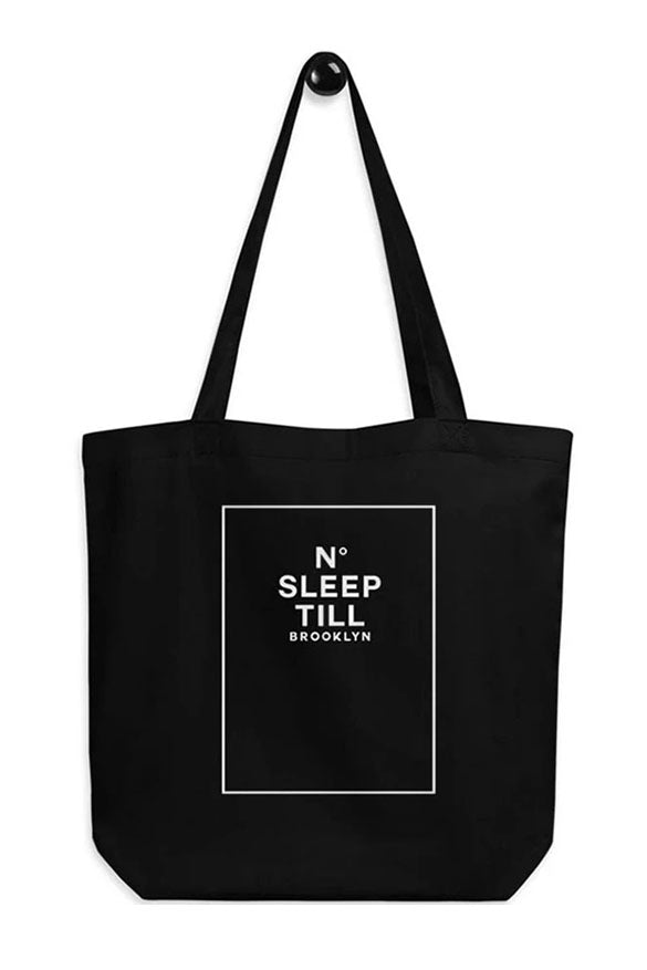 SLEEP NUMBER TOTE BAG