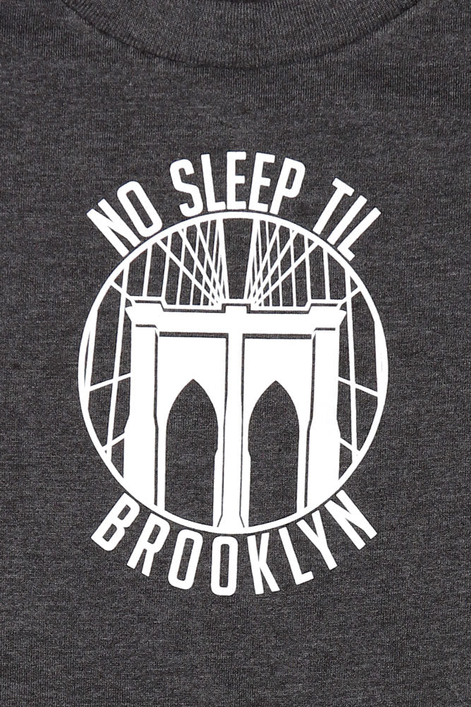 ROUND NO SLEEP T - BROOKLYN INDUSTRIES