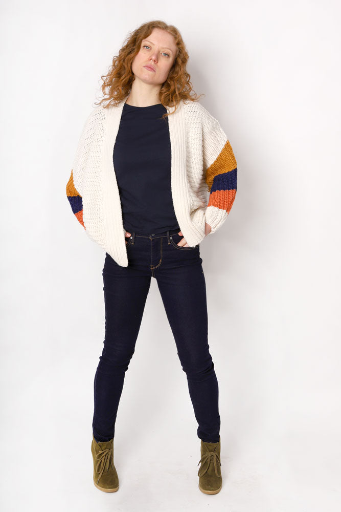 BLOCK & ROLL SWEATER W - BROOKLYN INDUSTRIES