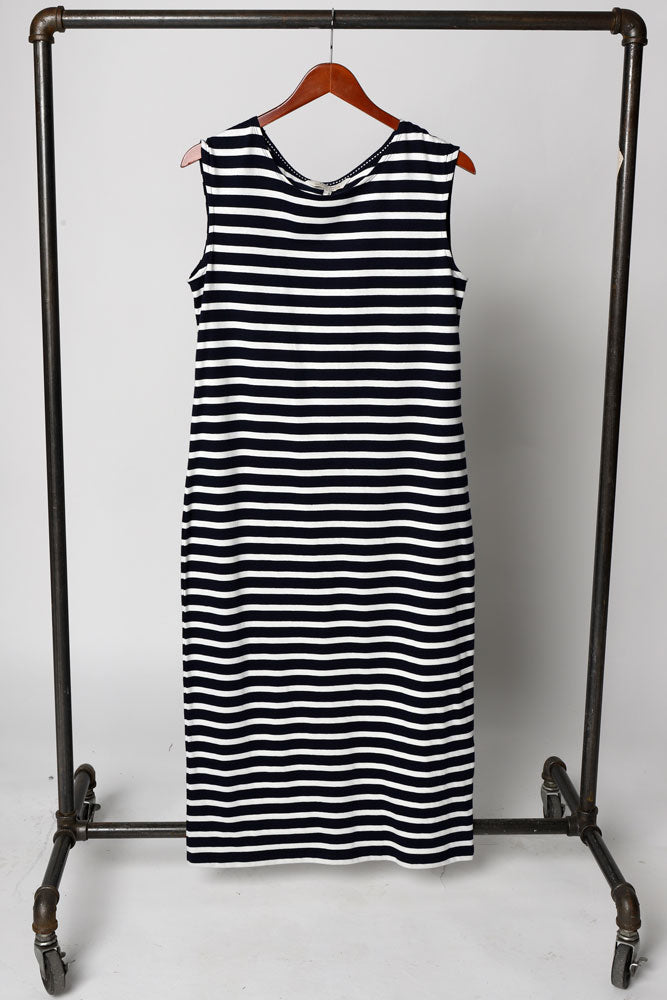 AMELIA STRIPE DRESS W - BROOKLYN INDUSTRIES