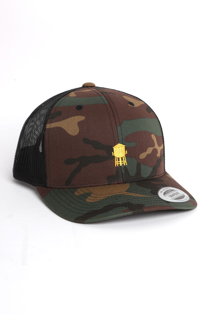 278 TRUCKER CAP CAMO - BROOKLYN INDUSTRIES