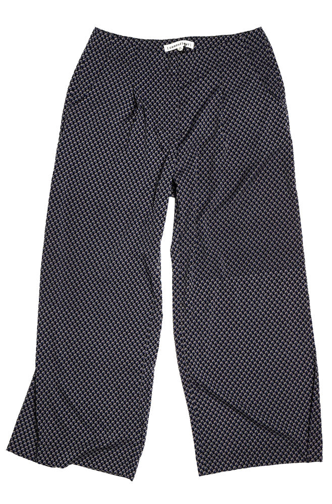 HANNACROIX WIDE LEG PANT W - BROOKLYN INDUSTRIES