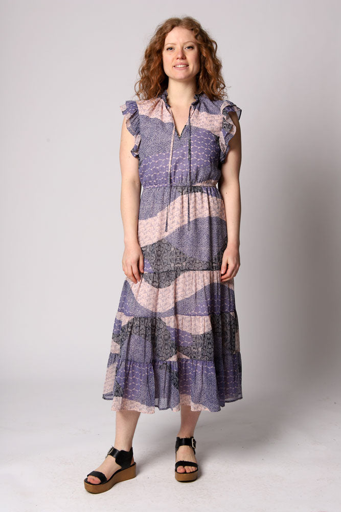 ALL MIXED UP DRESS W - BROOKLYN INDUSTRIES