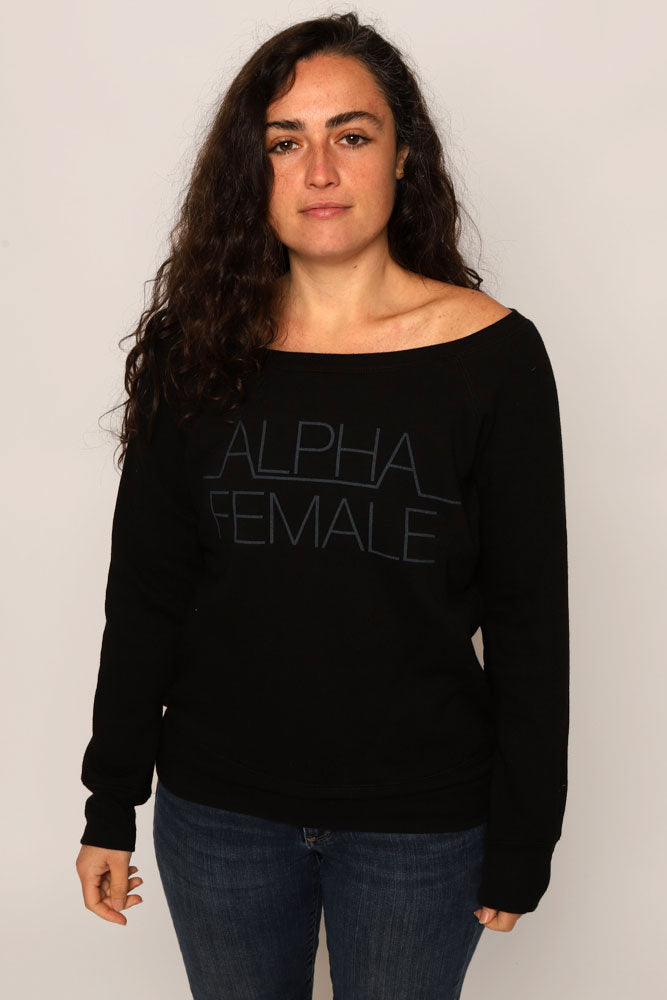 ALPHA FEMALE SWEATSHIRT W - BROOKLYN INDUSTRIES
