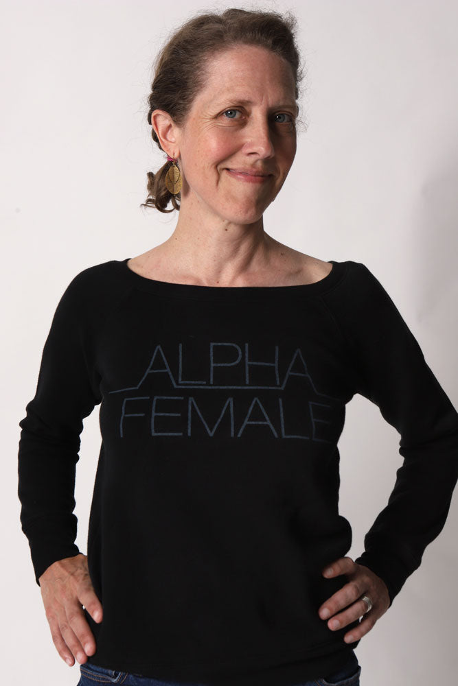 ALPHA FEMALE SWEATSHIRT W
