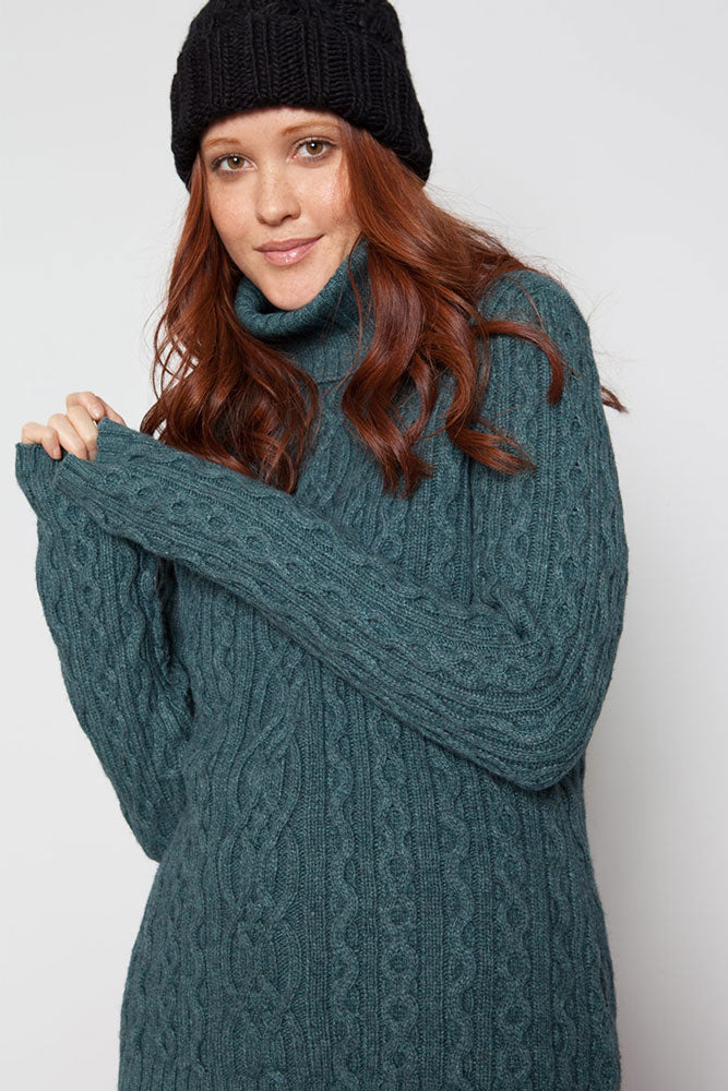 ASPEN SWEATER W - BROOKLYN INDUSTRIES