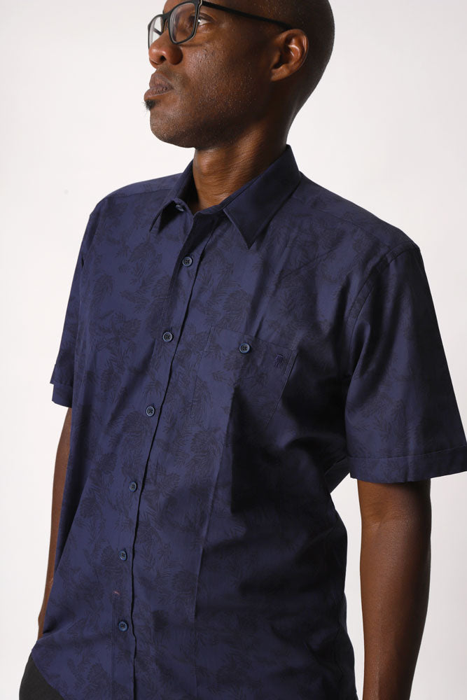 ATHENS WOVEN NAVY M