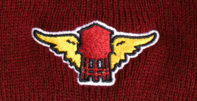 WATERTOWER WING BEANIE - BROOKLYN INDUSTRIES
