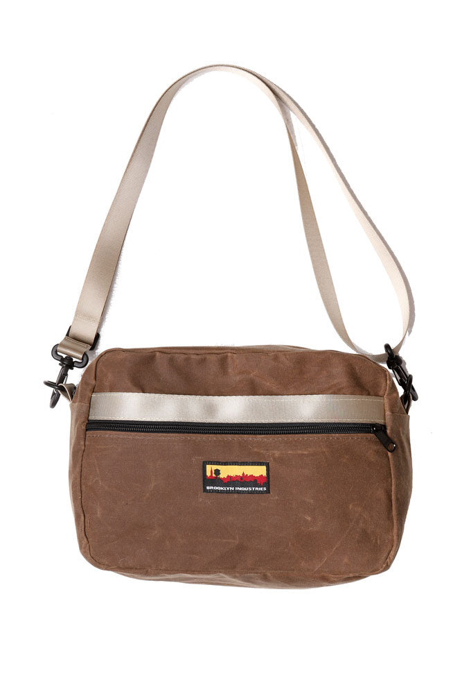 BFF WAIST PACK IN HAVANA WAXED CANVAS