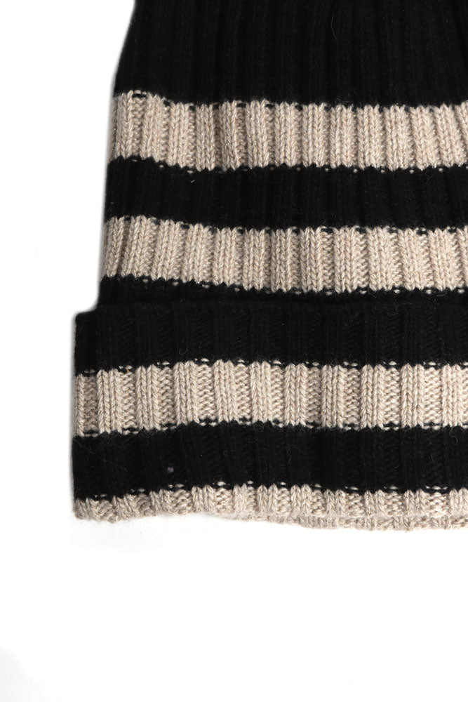 STRIPED ITALIAN BEANIE - BROOKLYN INDUSTRIES
