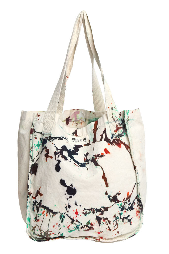 BKI DRIP DYE TOTE BAG - BROOKLYN INDUSTRIES