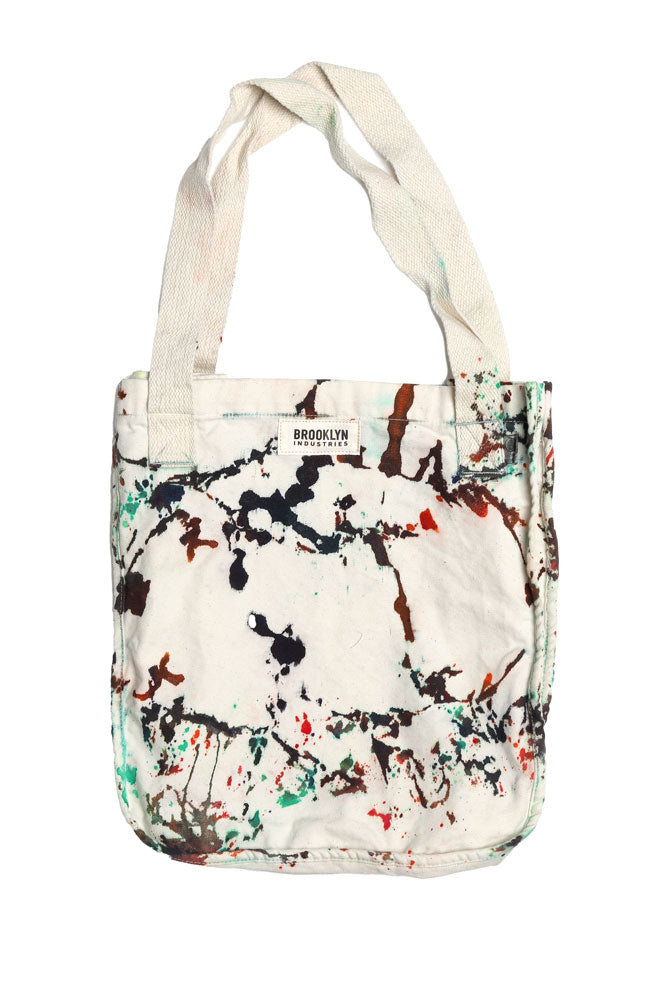 BKI TIE DYE TOTE BAG - BROOKLYN INDUSTRIES