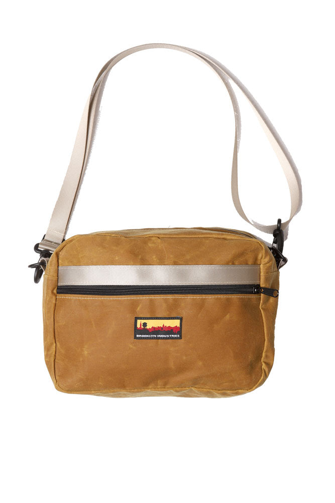 BFF WAIST PACK IN TOAST WAXED CANVAS
