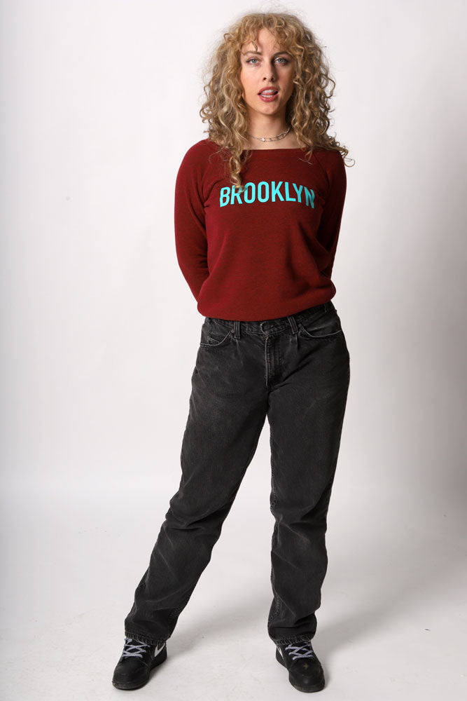 BK TYPE SWEATSHIRT W - BROOKLYN INDUSTRIES