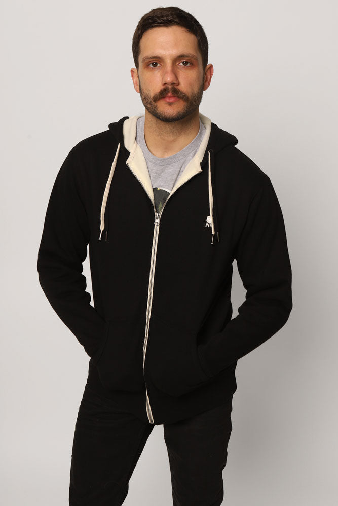 WATER TOWER SHERPA HOODIE M - BROOKLYN INDUSTRIES