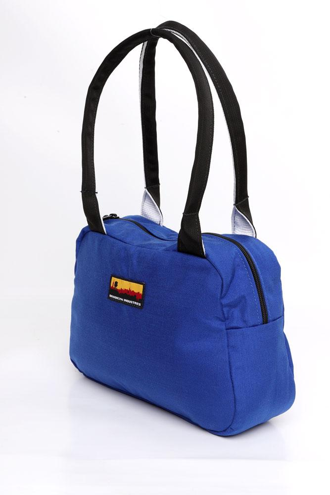 BOWLING BAG SIDE VIEW BLUE