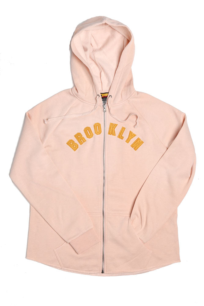 DITMAS PARK APPLIQUE ZIP UP W - BROOKLYN INDUSTRIES