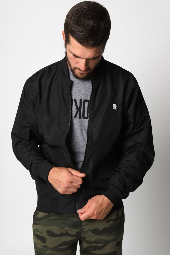 WATER TOWER BOMBER JACKET M - BROOKLYN INDUSTRIES