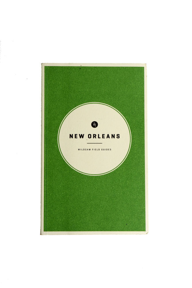 cover of the Wildsam field guide for New orleans