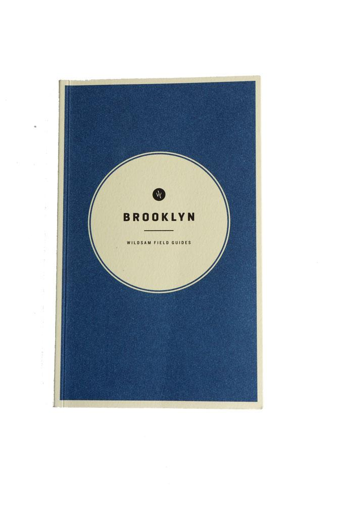 cover of the Wildsam field guide for Brooklyn
