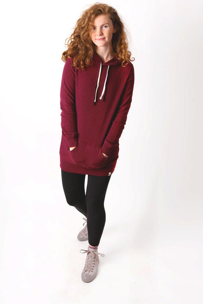 CLASSIC FLEECE DRESS W - BROOKLYN INDUSTRIES