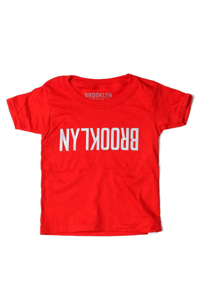 FLIPPED BK T - BROOKLYN INDUSTRIES