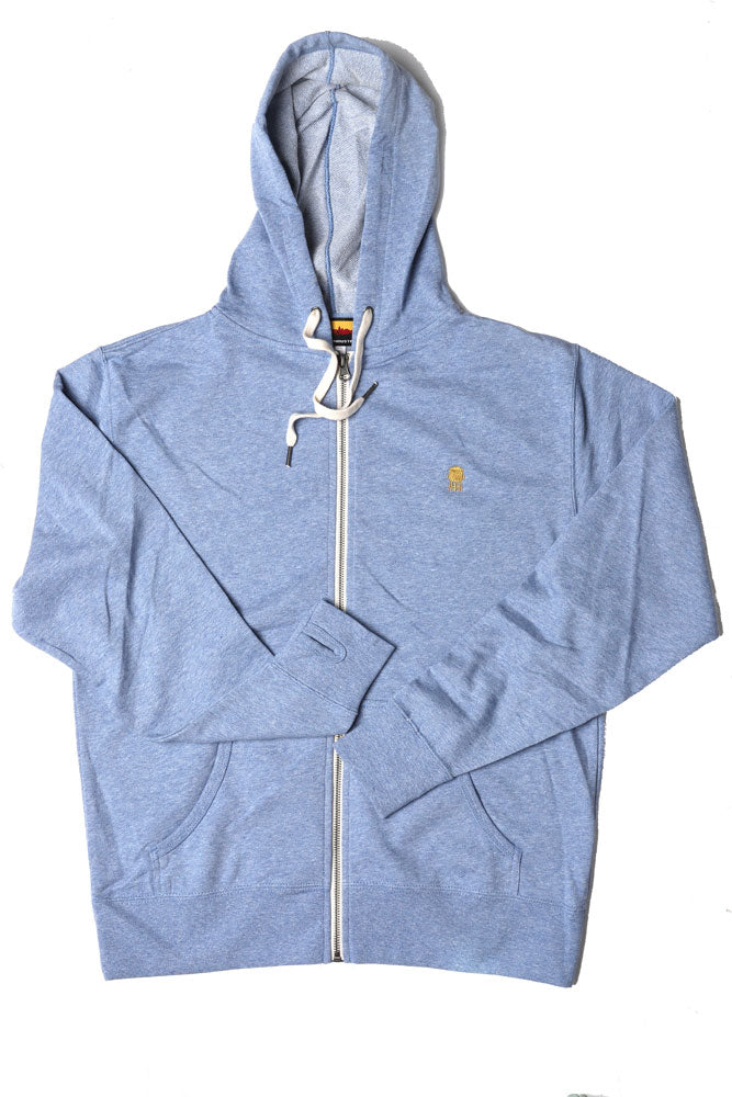 FRENCH TERRY WATER TOWER ZIP UP W