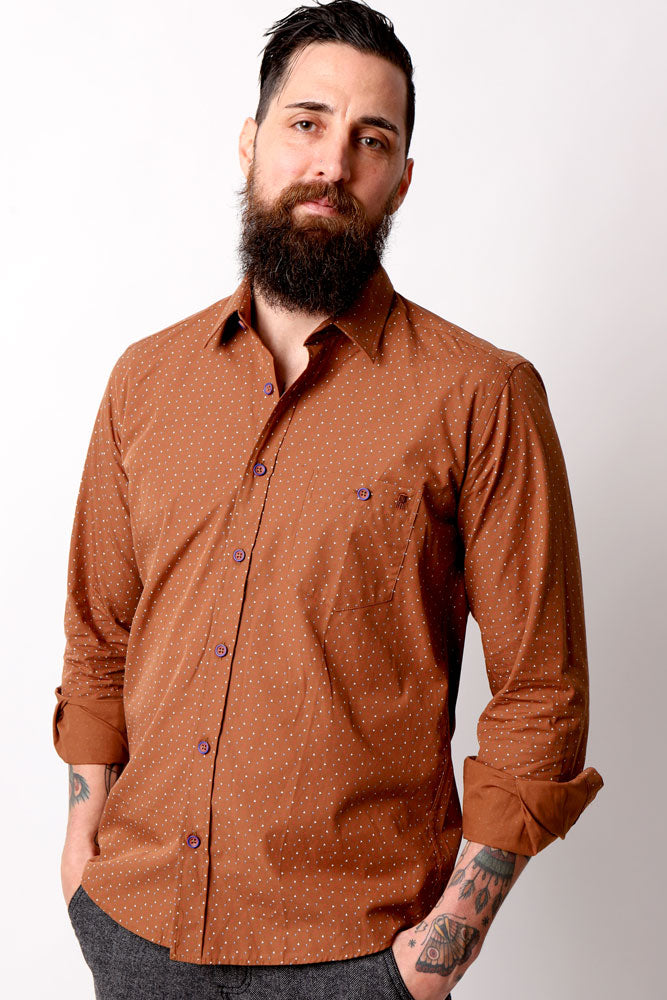 GREENVILLE WOVEN BROWN M