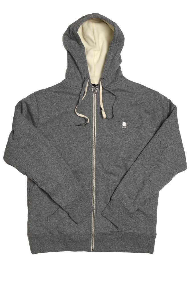 WATER TOWER SHERPA HOODIE W - BROOKLYN INDUSTRIES
