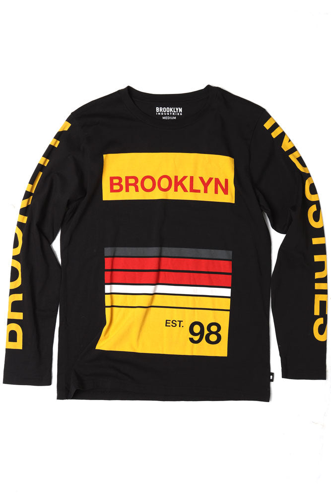 HORIZON LONG SLEEVE M - BROOKLYN INDUSTRIES