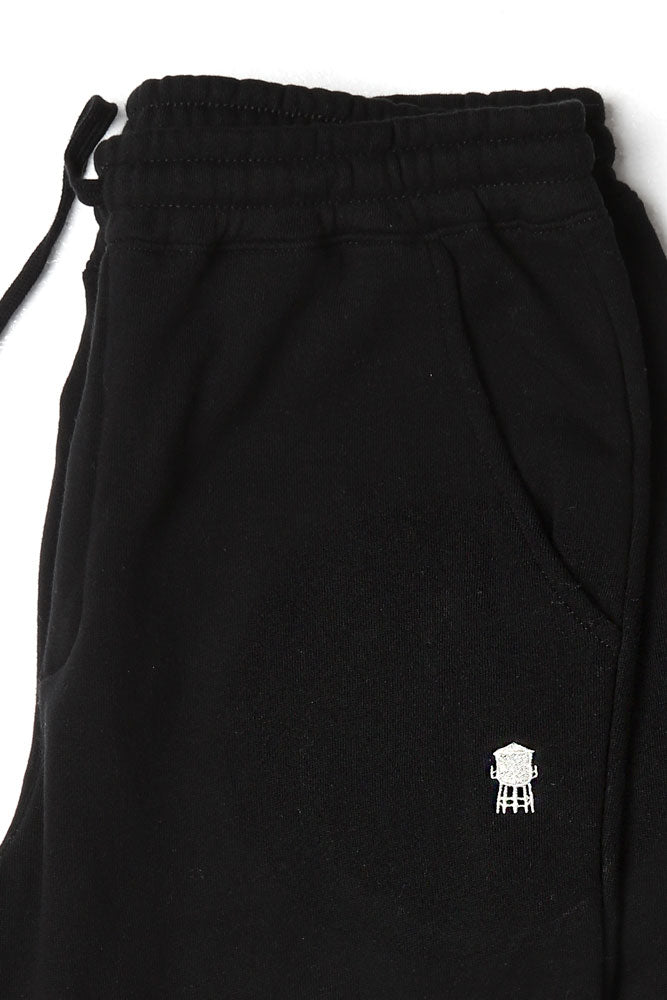 black Water tower Embroidery sweat pant in mid weight fabric