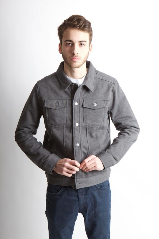 IRVING JACKET FLEECE M - BROOKLYN INDUSTRIES