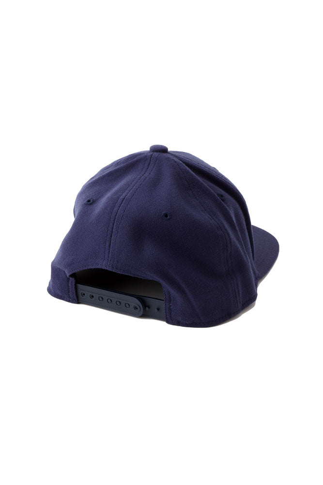 BACK VIEW OF ADJUSTABLE BLUE CAP