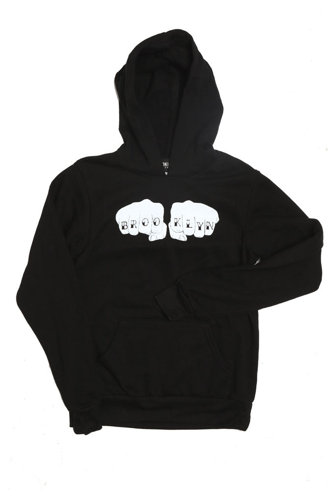 BK KNUCKS HOODIE Y - BROOKLYN INDUSTRIES