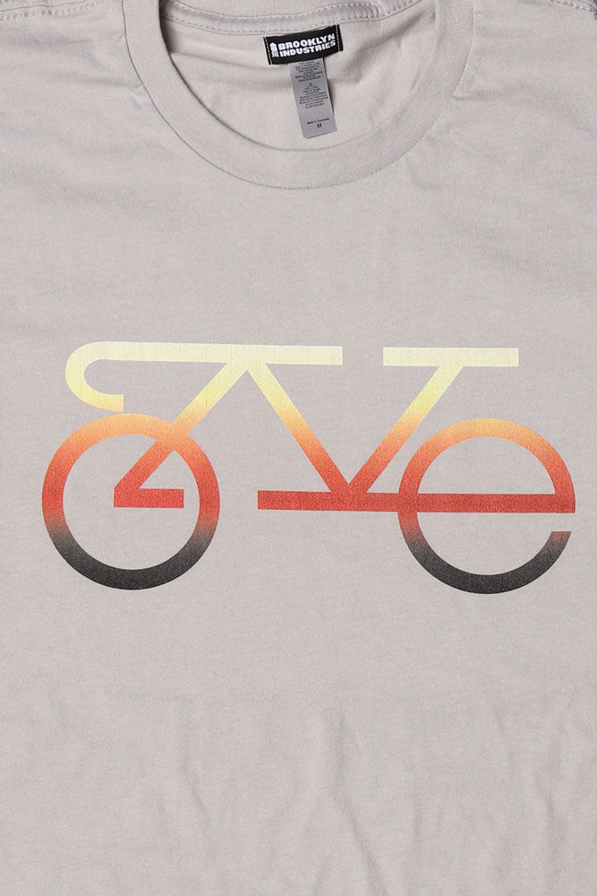 DETAIL OF  L.O.V.E. SPELLED OUT IN THE FORM OF A BIKE