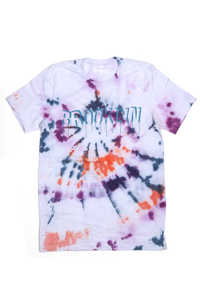 TIE DYE DRIP M - BROOKLYN INDUSTRIES