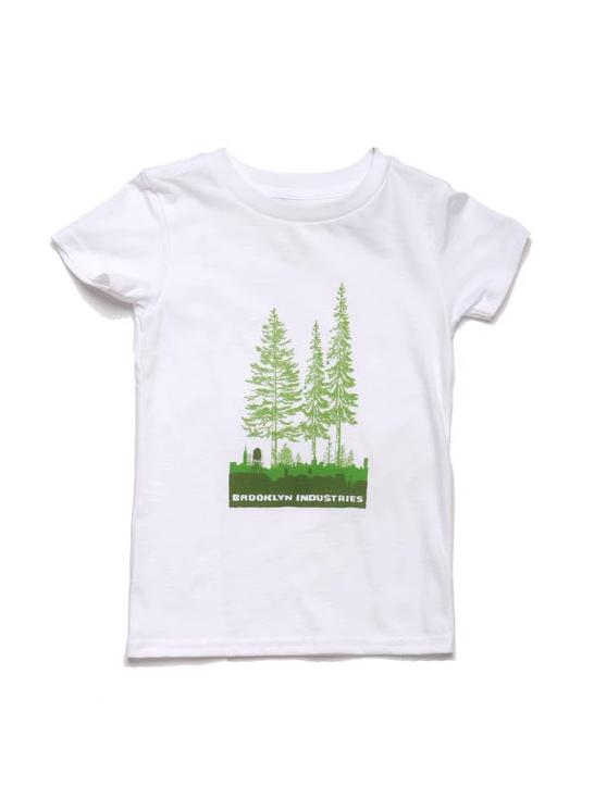 TODDLER T-SHIRT WITH OVERGROWN BROOKLYN GRAPHIC ON THE CHEST