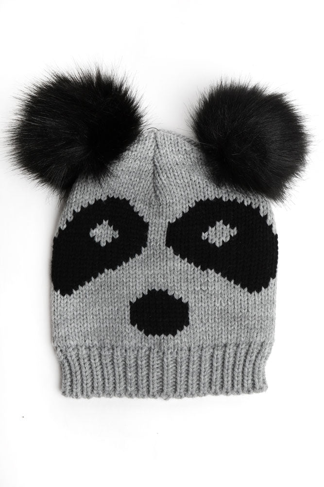 SKULLY BEANIE - BROOKLYN INDUSTRIES