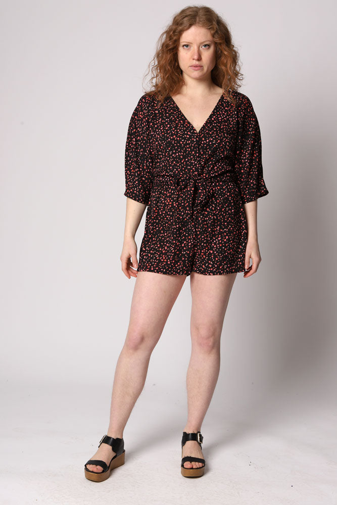 PARTY GAME ROMPER - BROOKLYN INDUSTRIES
