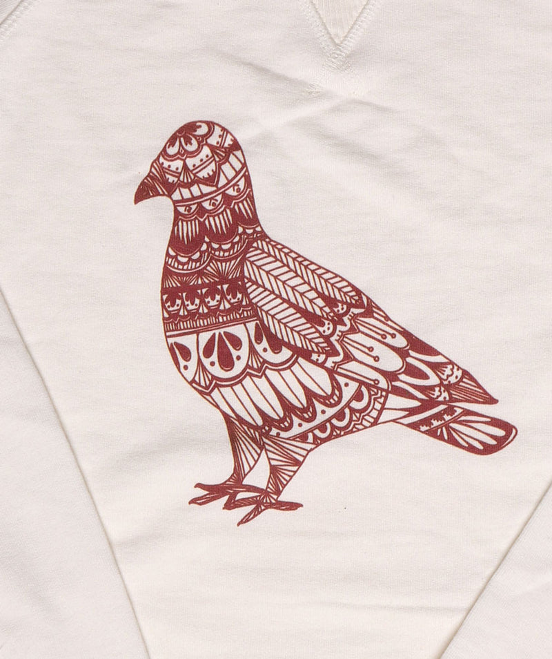 DODDLE PIGEON SWEATSHIRT DETAIL FOR WOMEN