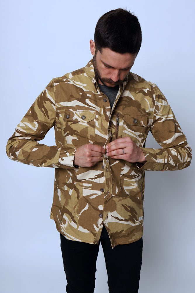 PIKE SHIRT JACKET M - BROOKLYN INDUSTRIES