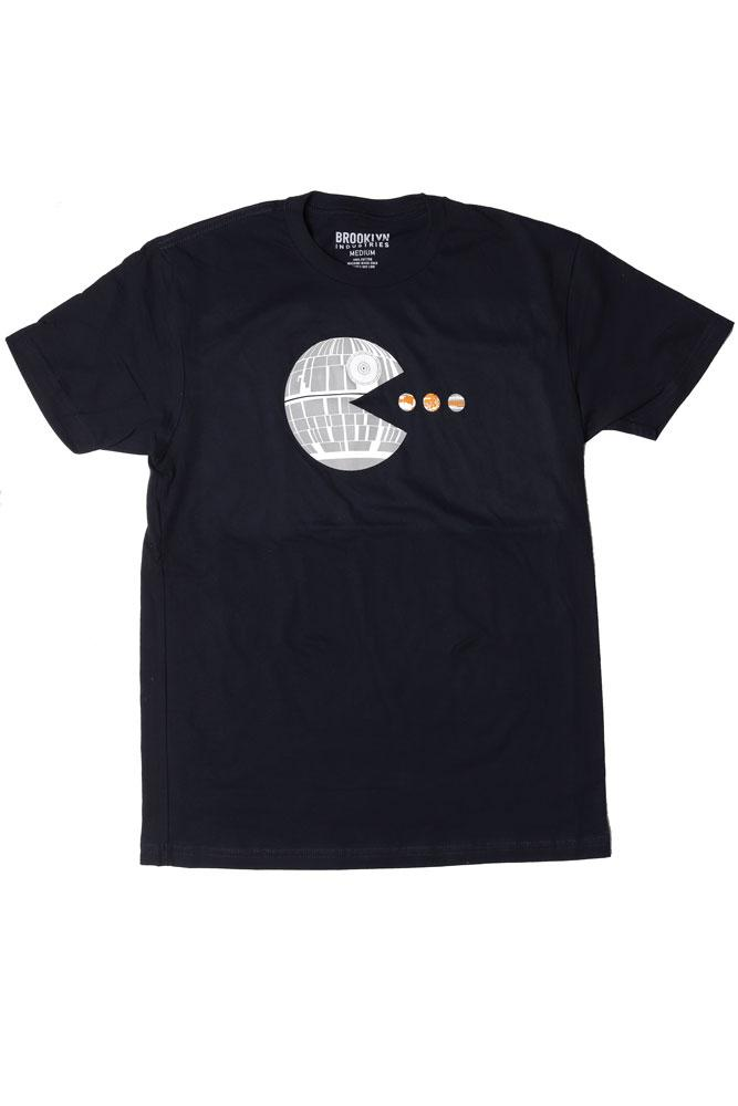 flat lay planet muncher - men's t-shirt
