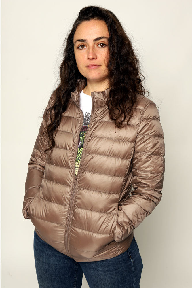 ULTRA LIGHT DOWN COAT W - BROOKLYN INDUSTRIES