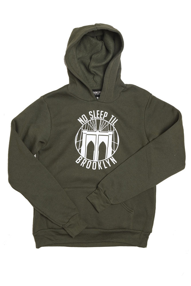 ROUND NO SLEEP HOODIE Y - BROOKLYN INDUSTRIES